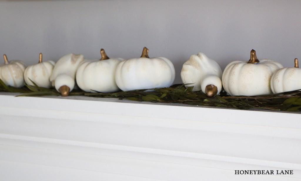 white-painted-pumpkins