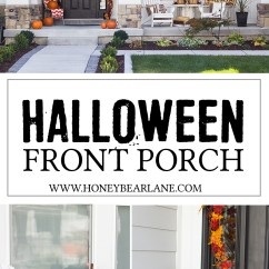 Images Of Chair Covers Marilyn Monroe Farmhouse Halloween Front Porch Decor - Honeybear Lane