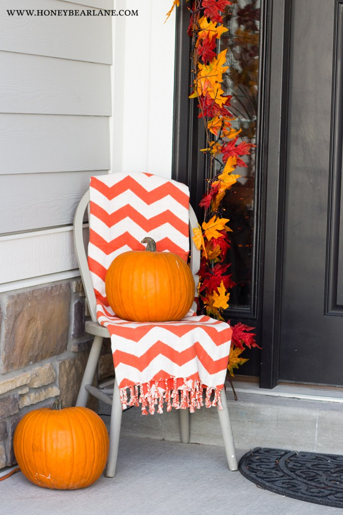 chevron-orange-blanket