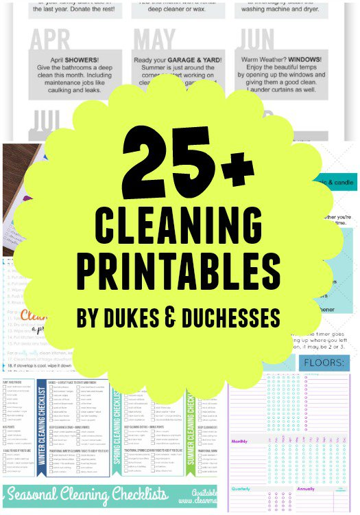 25 Cleaning Hacks To Help With Spring Cleaning