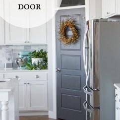 Kitchen Trim Lysol Antibacterial Cleaner Pantry Door Makeover - Honeybear Lane