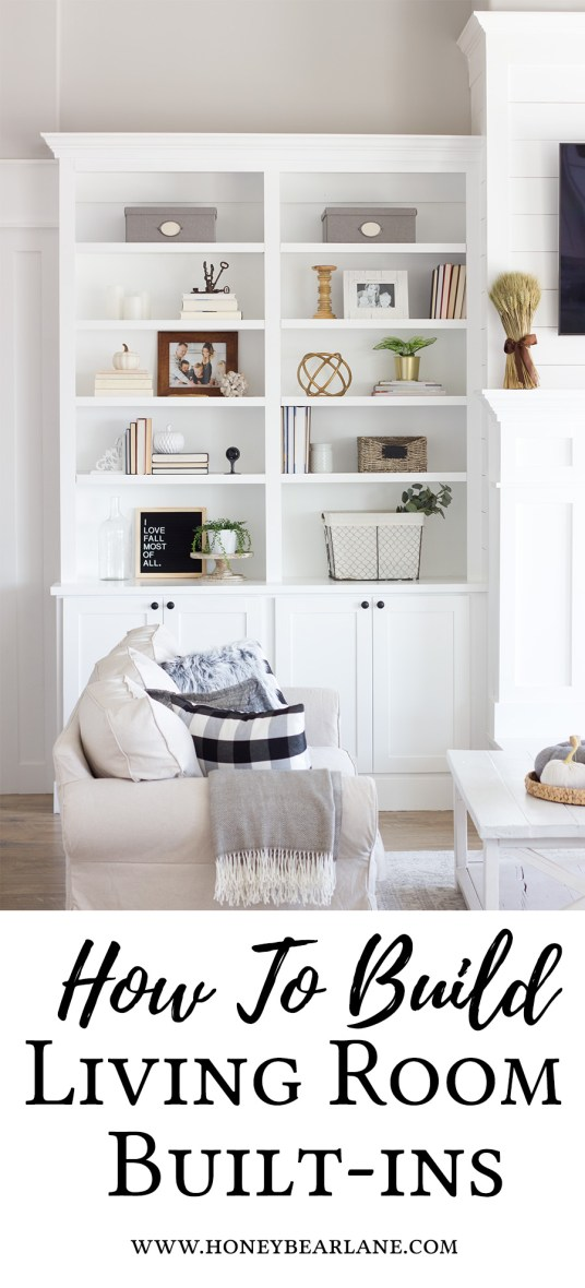 diy built in cabinets around the fireplace
