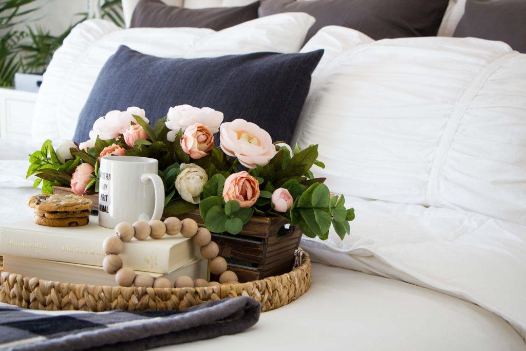 DIY Valentines Flower Arrangement  Honeybear Lane