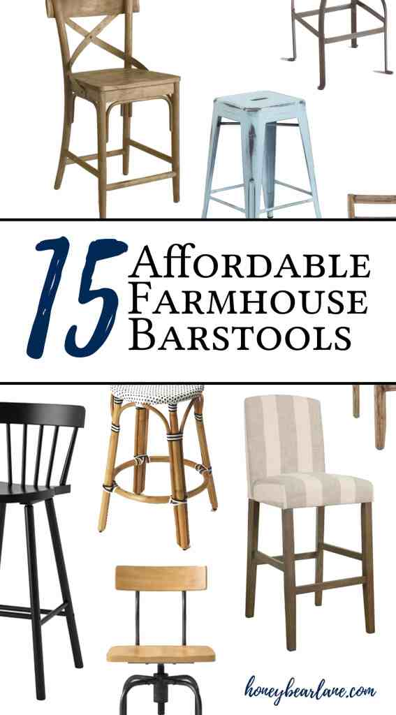 farmhouse barstools