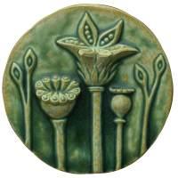 ceramic art original sculpted tiles - HONEYBEE CERAMICS