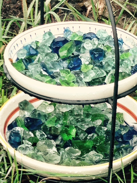 Andrew Graham Sea Glass Water Dish
