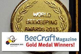 Apimondia gold medal