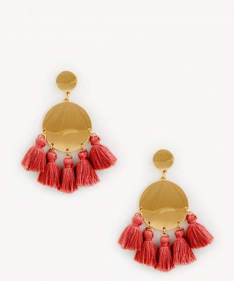Tango Statement Tassel Earrings