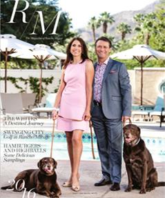 Rancho Mirage Magazine article screenshot