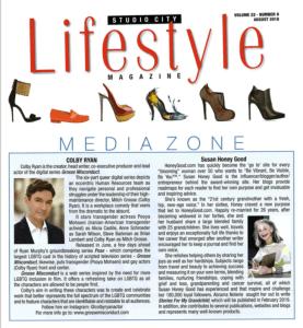 Lifestyle Magazine article screenshot