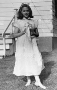Barbara at 10 years old