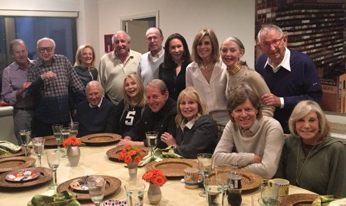 A wonderful evening surrounded by friends