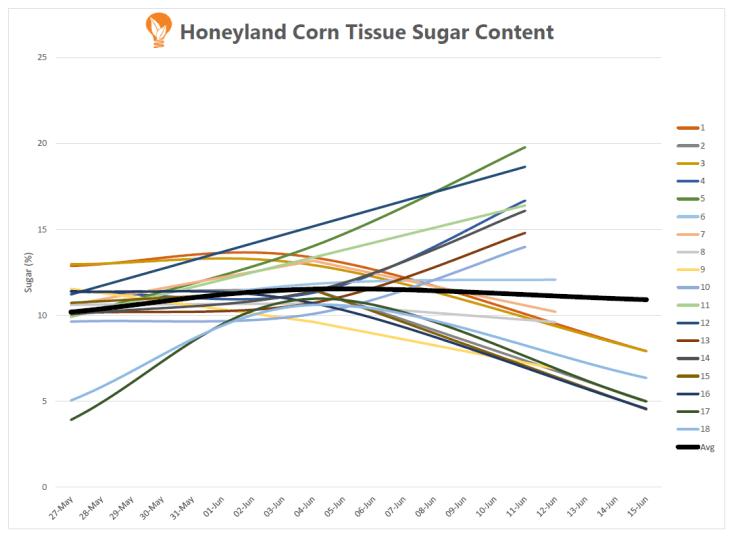 Corn Sugar Levels Ontario