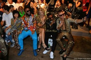 Unbothered Wizkid Sits Front Row At The Moschino Show During Milan Fashion Week
