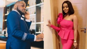 Davido Unfollows Chioma on IG after it was revealed Chioma lied about Peruzzi being his Cousin