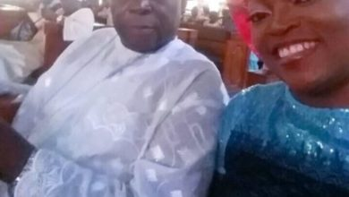 Photo of Funke Akindele And Her Siblings Absent At Their Father's Funeral In Lagos (Photos)