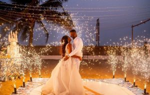 Simi & Adekunle Gold Mark 1st Wedding Anniversary