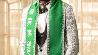 Photo of Mr.Nigeria international advice Nigerians to remain calm and pray for the pandemic (Covid-19)