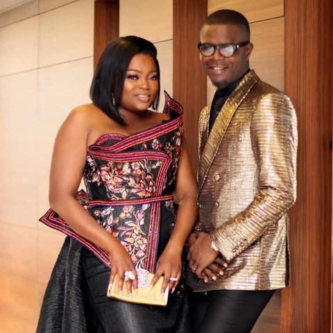 Funke Akindele and husband, JJC Skillz [Instagram/JJCSkillz]