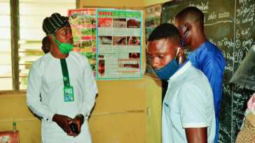 AJAFETO YOUTH FORUM INSPECTS SCHOOLS IN OYO STATE