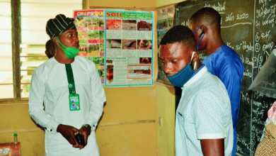 Photo of AJAFETO YOUTH FORUM INSPECTS SCHOOLS IN OYO STATE