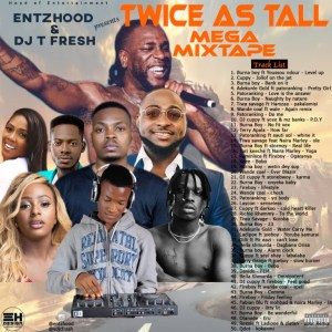 Mixtape : DJ T Fresh – Twice As Tall Mega Mixtape