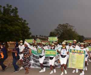 NYSC OSUN HOLDS AWARENESSES RALLY AHEAD OF SAED OPENING