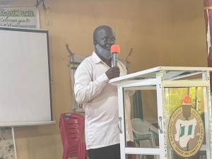 TEACHING IS A NOBLE PROFESSION- AYIBIOWU TELLS CORPS MEMBERS