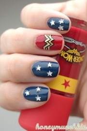 dc superhero nail art series