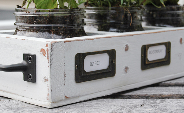 Upccycled Herb planter