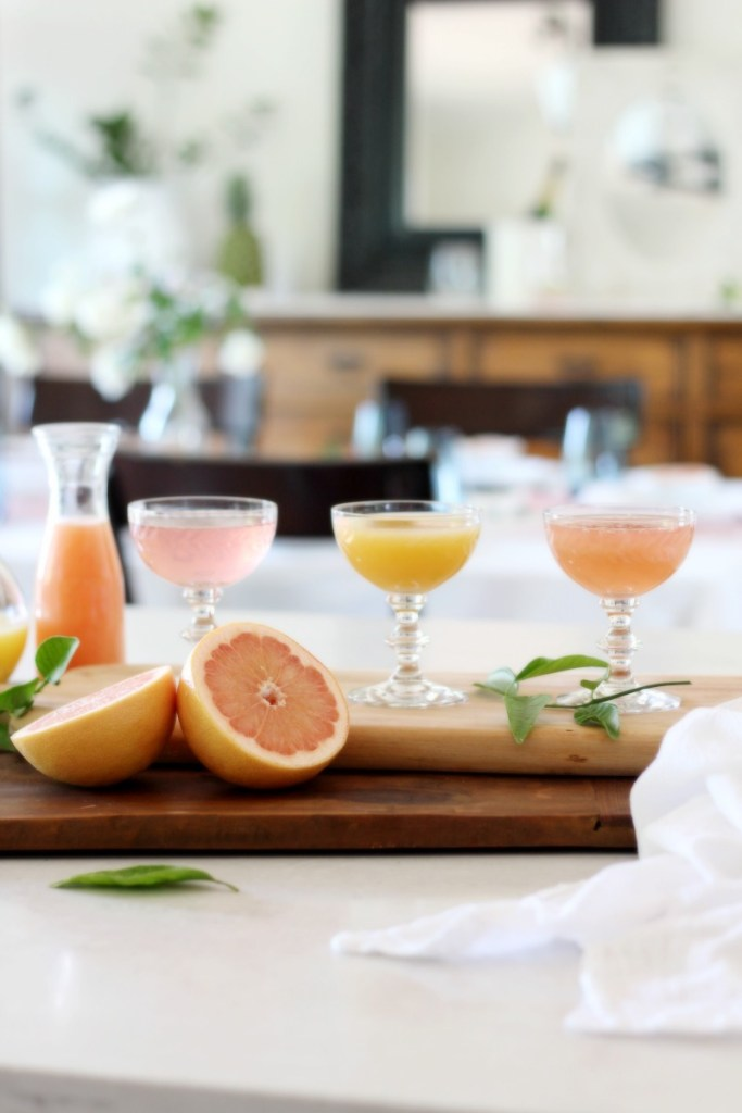 Make the perfect mimosa flight with these 3 citrus juices