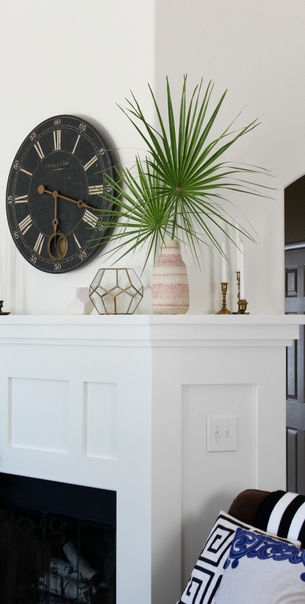 3 ways to use tropical statement leaves like monstera and palm fronds