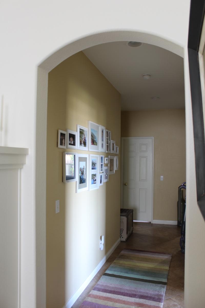 Hallways are rooms too, before pics, $100 room challenge