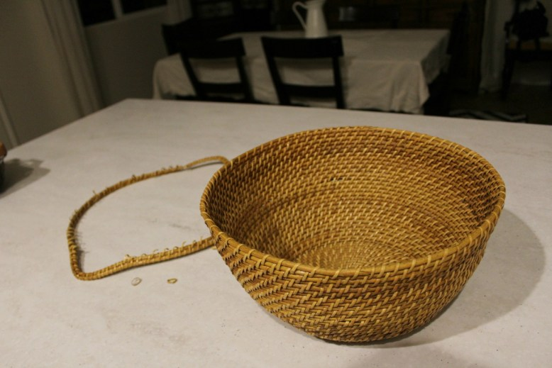 Make Your Own Basket Pendant light DIY