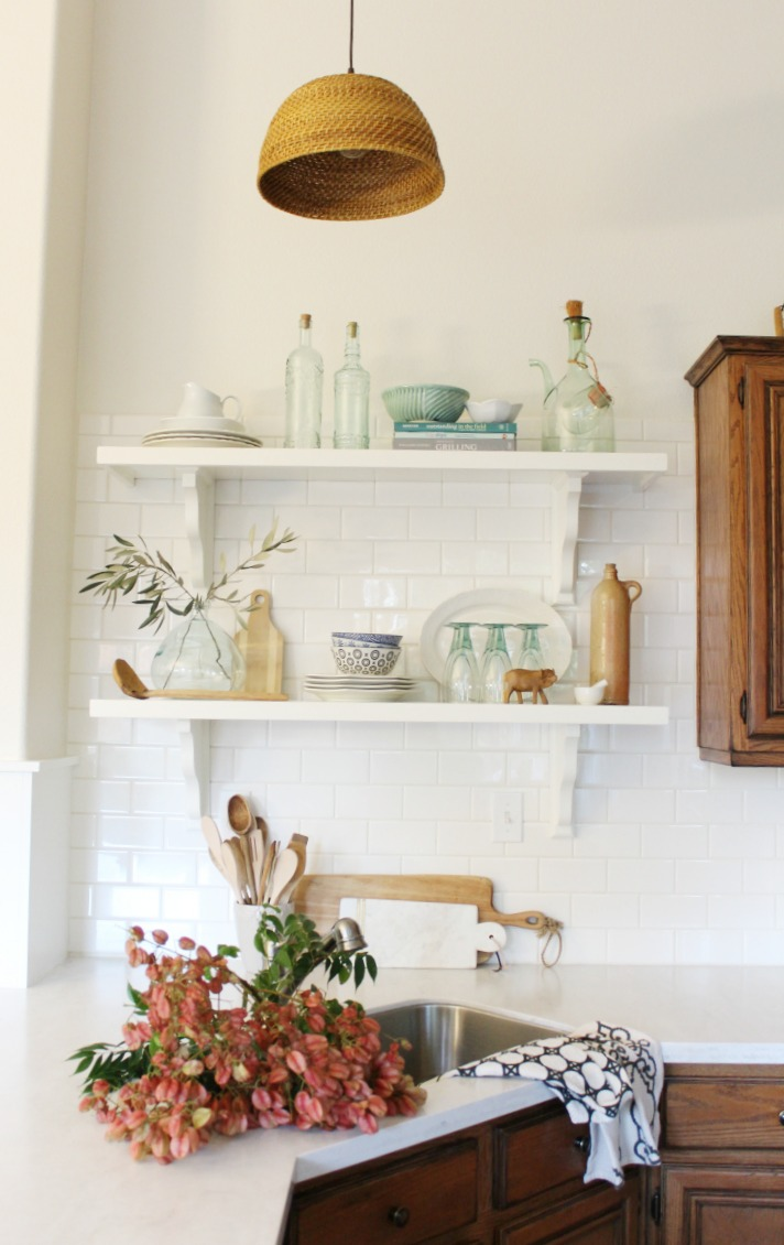Make Your Own Basket Pendant light DIY