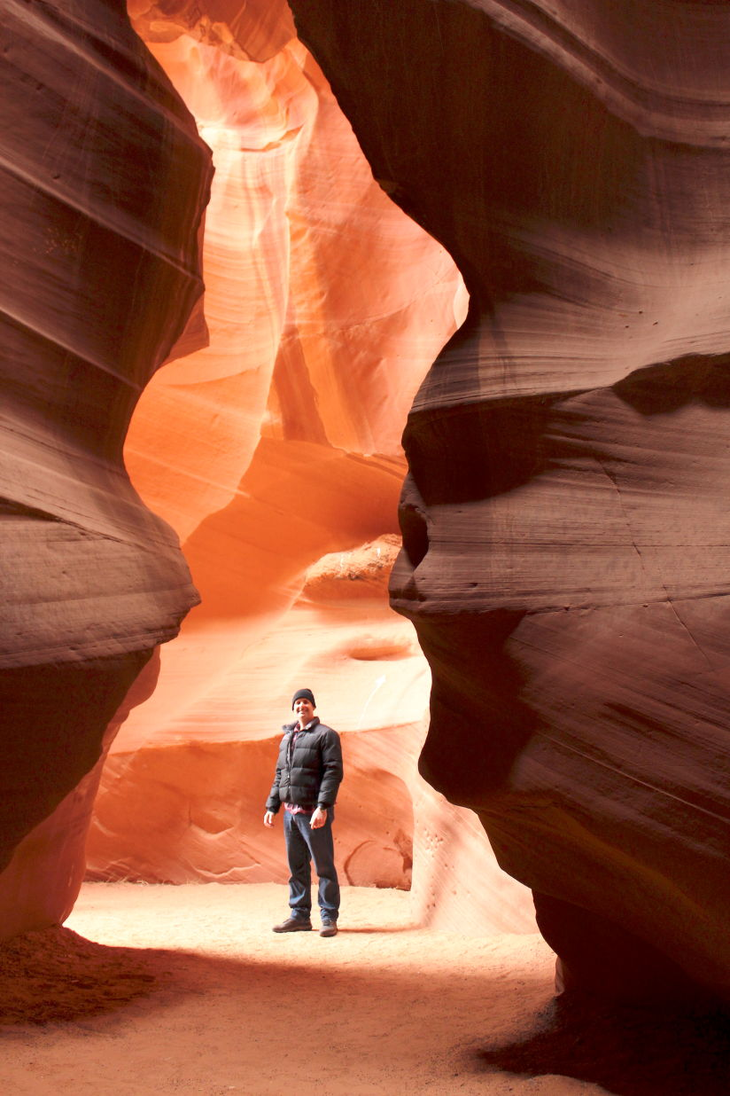 Entry to Antelope Canyon