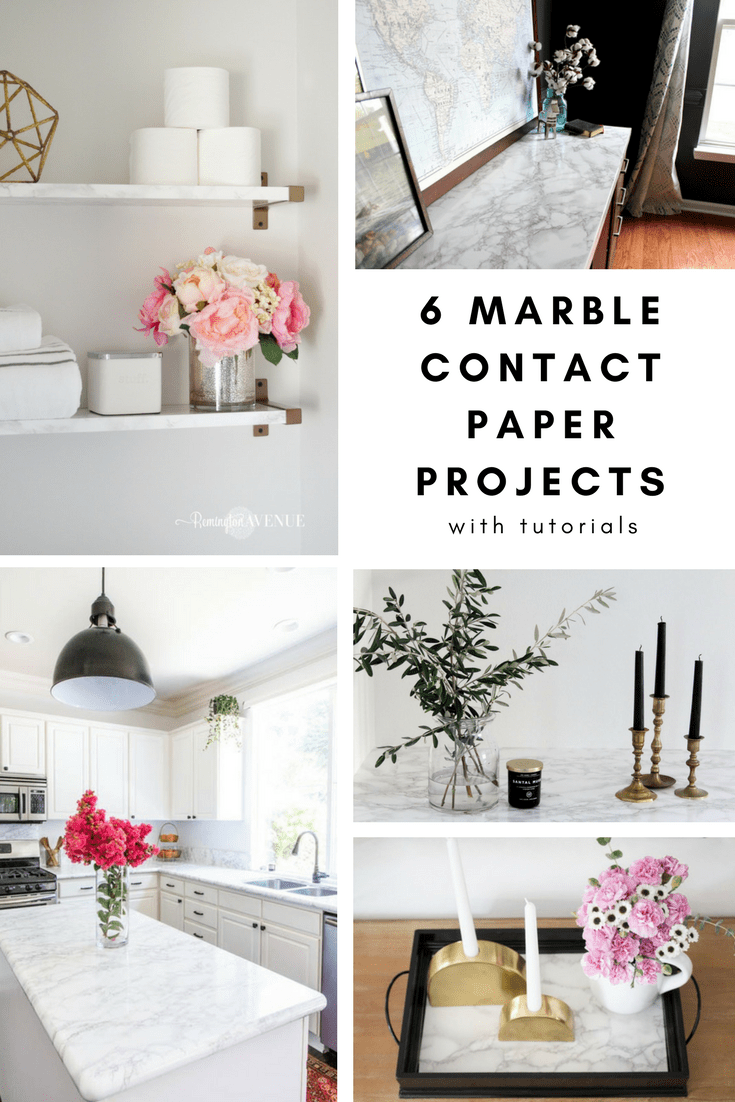 The Best Diy Marble Contact Paper Projects With Tutorials Honey N