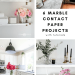 The Best Diy Marble Contact Paper Projects With Tutorials Honey N Hydrangea