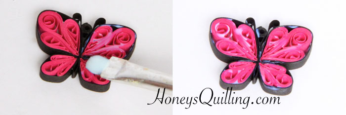 diy make your own paper quilled butterfly earrings