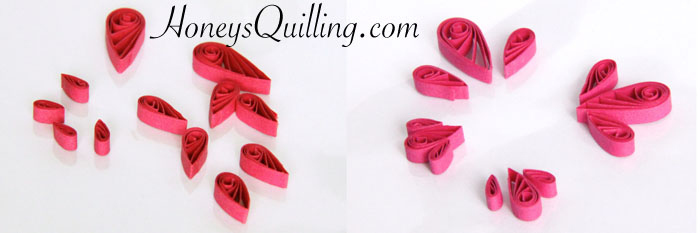 free tutorial for making paper quilled butterfly earrings