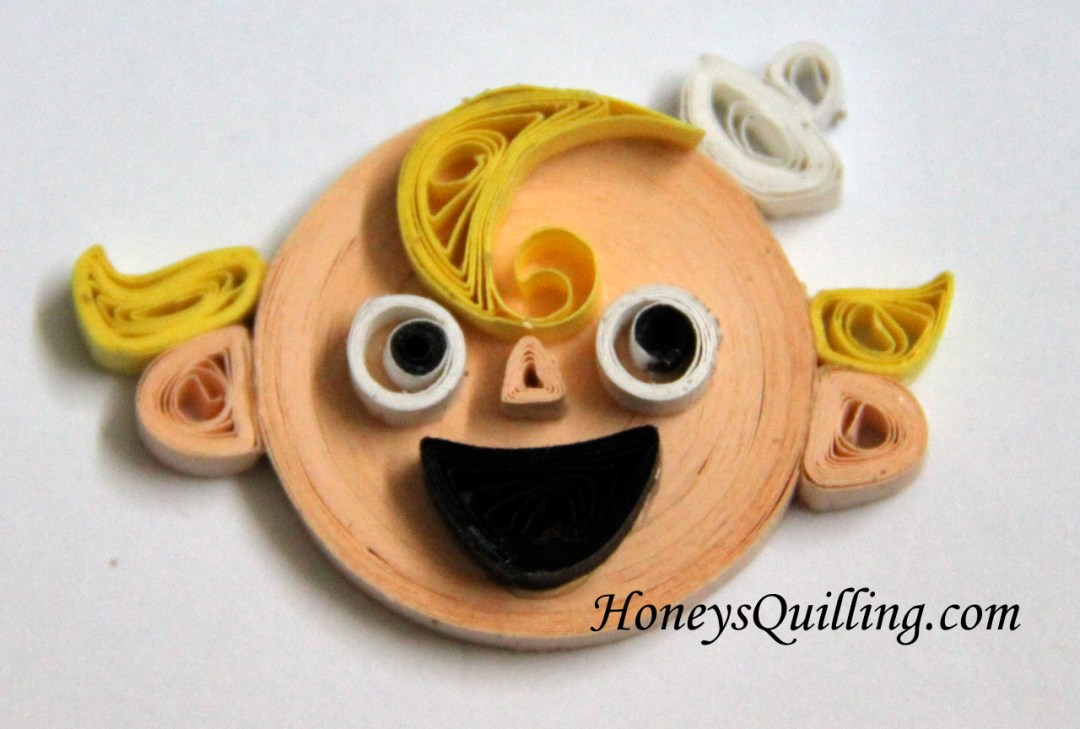 Paper quilled magnets from The Marvelous Misadventures of Flapjack - by Honey's Quilling