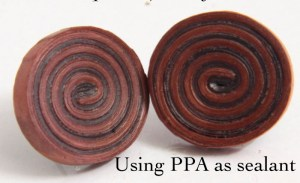 how to use ppa as a sealant for your paper quilled jewelry