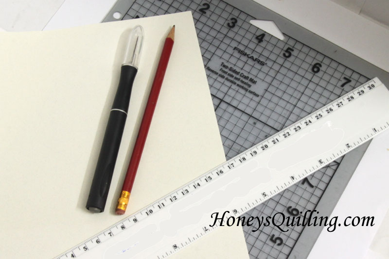 How to cut your own paper quilling strips - Honey's Quilling