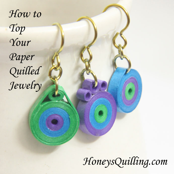 Making paper quilled jewelry tip 5 creating the top for How to make your own quilling paper