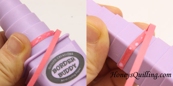 Tips and Tricks for using the Border Buddy for paper quilling - Honey's Quilling