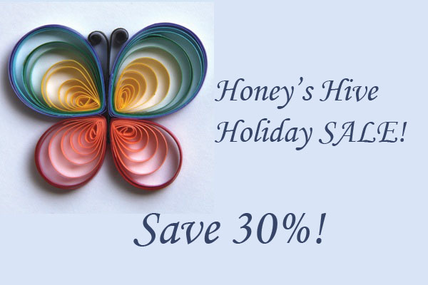 Save 30% – Holiday Sale on Paper Quilled Jewelry