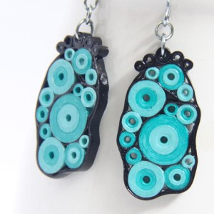 Save 30% on handmade paper quilled jewelry at Honey's Hive
