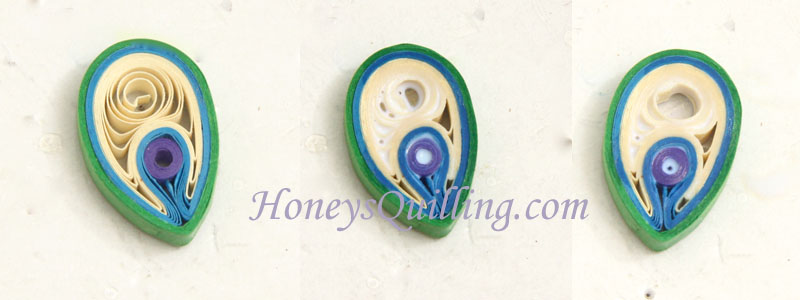 How to apply sealant to paper quilled jewelry so the coils won't open up - Honey's Quilling