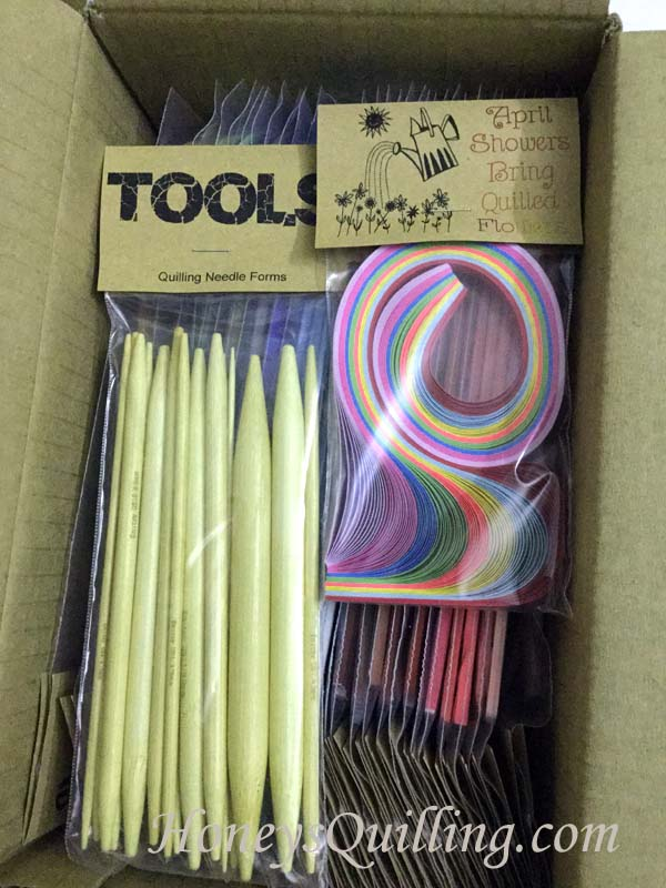 Culture Pop quilling tools - Honey's Quilling