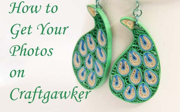 How to Get Your Photos on Craftgawker